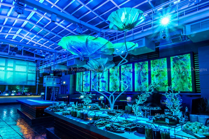 Venue theWit | Photo, Event Design & Technology by Kehoe Designs