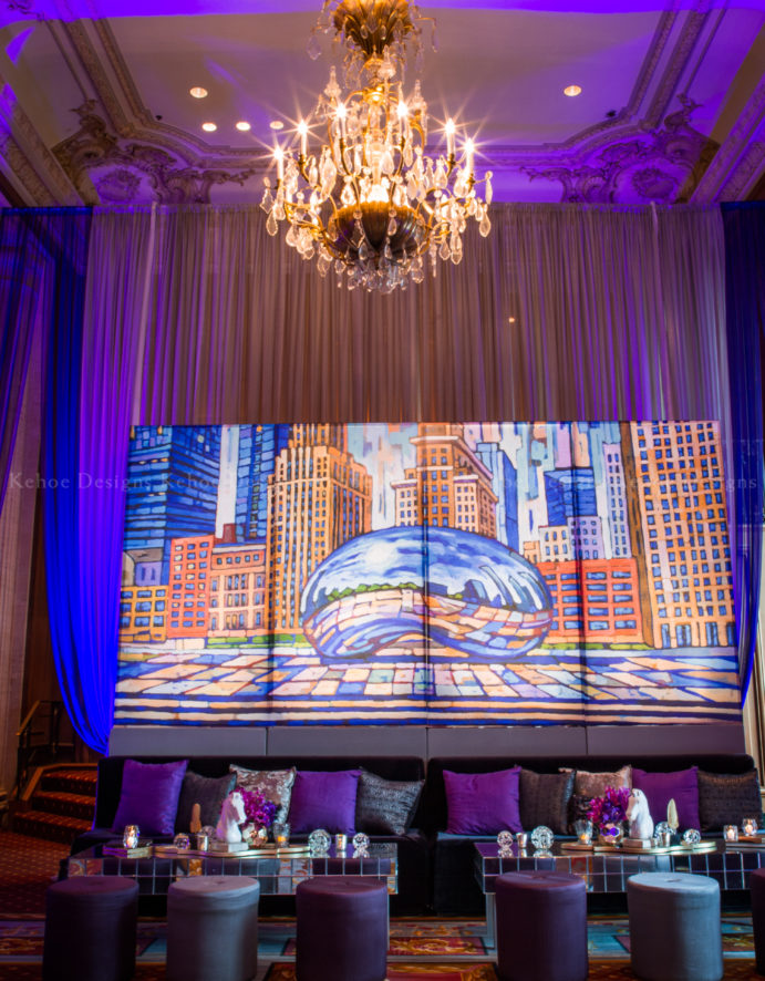 Kehoe Designs, Corporate, Corporate Event, Theme Event, Theme, Events, Graffiti, Gala, Chicago Hilton, Lighting, Art, Design, Innovative, Creative, Event Design Chicago, Art Installation, Event Production, Event Design Ideas, Lounge Grouping