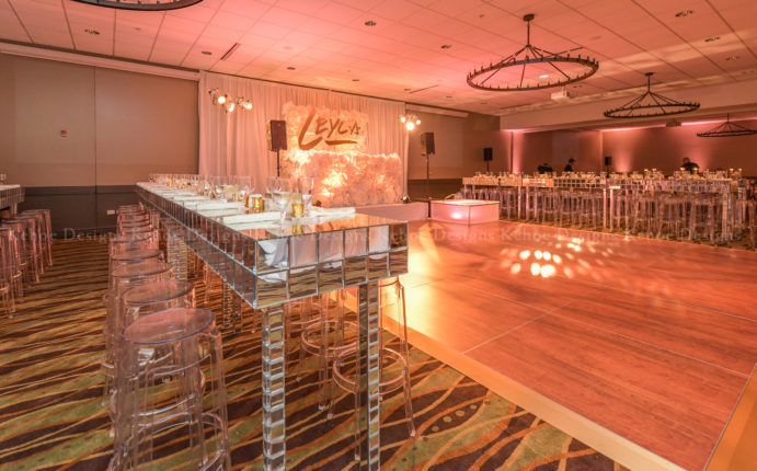 Kehoe Designs, Mal Marcus, texture, mitzvah, bar mitzvah, bat mitzvah, party, celebration, event design, event decor, event inspiration, event design inspiration, glitz, glamour, luxury event, trendy event design, fancy affair, crystal design, table design, floral, decor, design, furniture