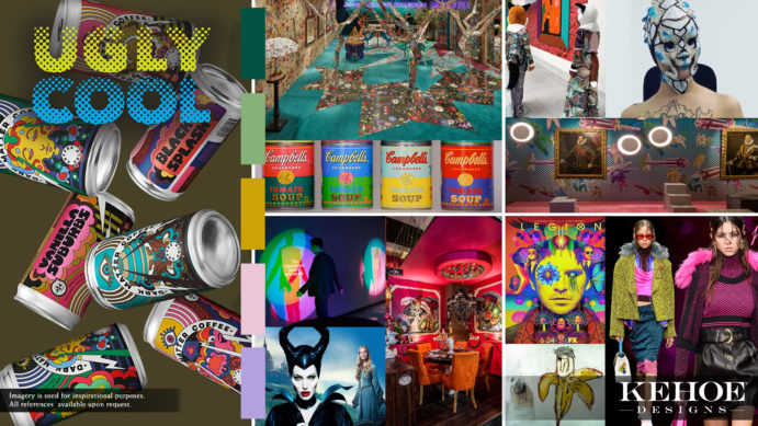 Alt tags: Kehoe Designs, Andy Warhol, Trends, Trend, Ugly Cool, Event Design, Events, Decor, Design, Influencer, Millenials, Fashion, Art, Expression, Different, Unique Style