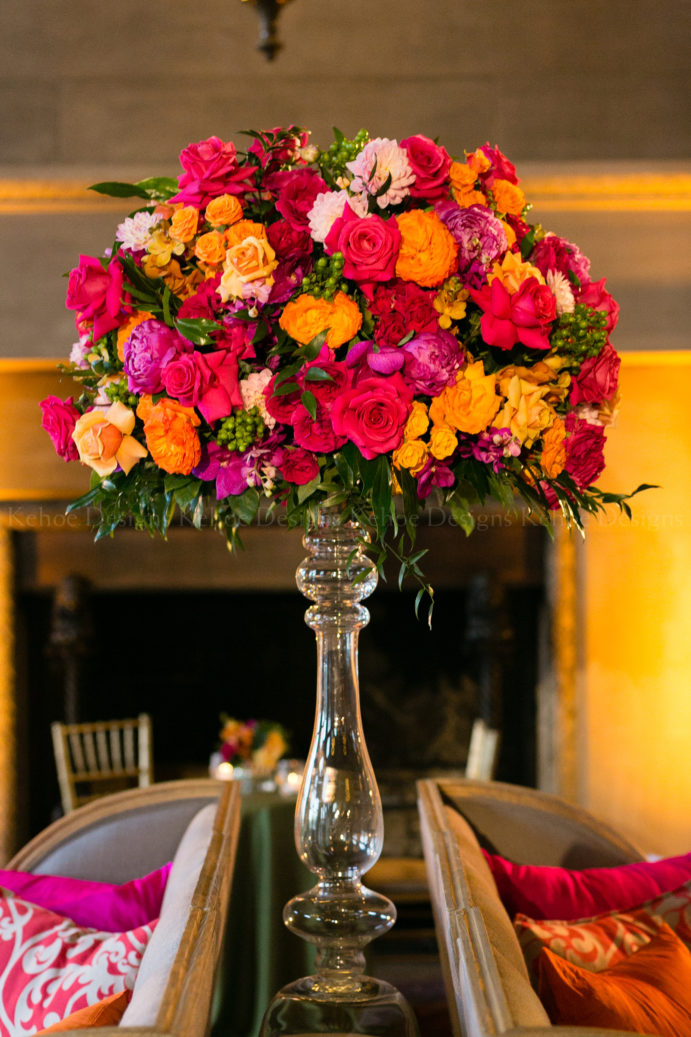 Kehoe Designs, Tropical Opulence, Design, Flowers, Vibrant Colors, Tropulent, Tropulence, Decor, Wedding, Chicago Wedding, Luxury Wedding, Luxury Design, Trend, Tropical Opulence 2020 Trend, Event Trend, Design Trend