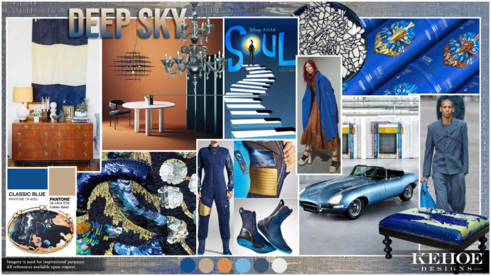 Kehoe Designs, Creative Services, Trend Board, Pantone Color of the Year, Classic Blue, Event Design, Event Decor, Chicago Events, Events Nationwide, Chicago Events, Event Inspiration, Industry Trends, Japenese Design, Culture