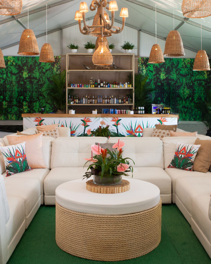 Lollapalooza, Grant Park, Activation, Look Back At Lolla, Event Design, Event Decor, Tropical Utopia, Plantscapes, Greenery